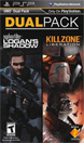 PSP Dual Pack featuring Killzone: Liberation and Syphon Filter: Logan's Shadow