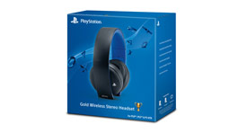 PlayStation® Gold Wireless Headset
