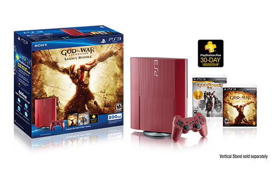 God of War Ascension Legacy PS3 Bundle  Unboxing