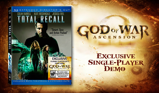 God of War: Ascension™ Single Player Demo with Total Recall