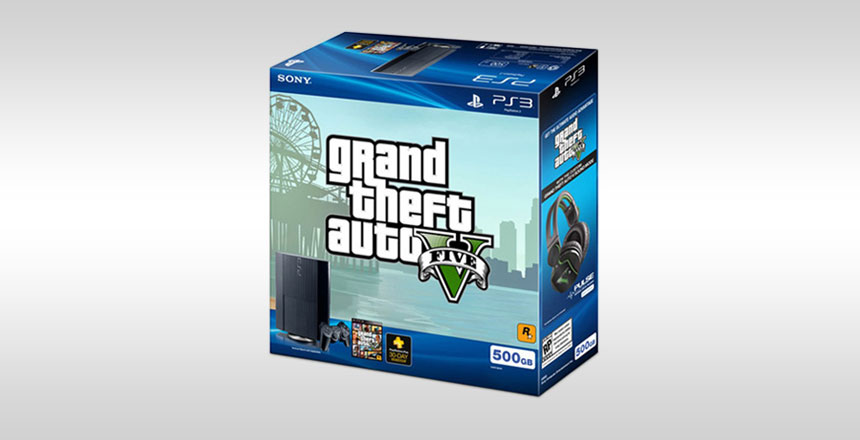 Acheter PlayStationMD3 Grand Theft Auto V™ Bundle