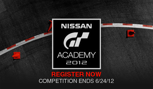 Become a professional racecar driver with GT Academy 2012