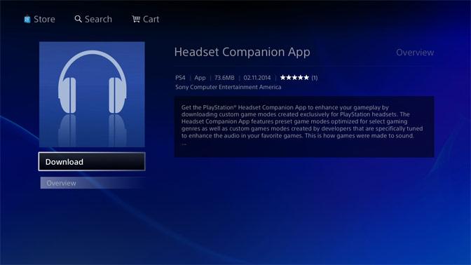 Headset Companion App