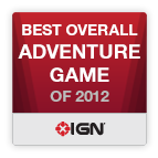 Best Overall Adventure Game of 2012 - IGN