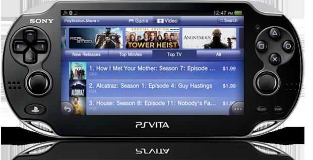 PS Vita Movies