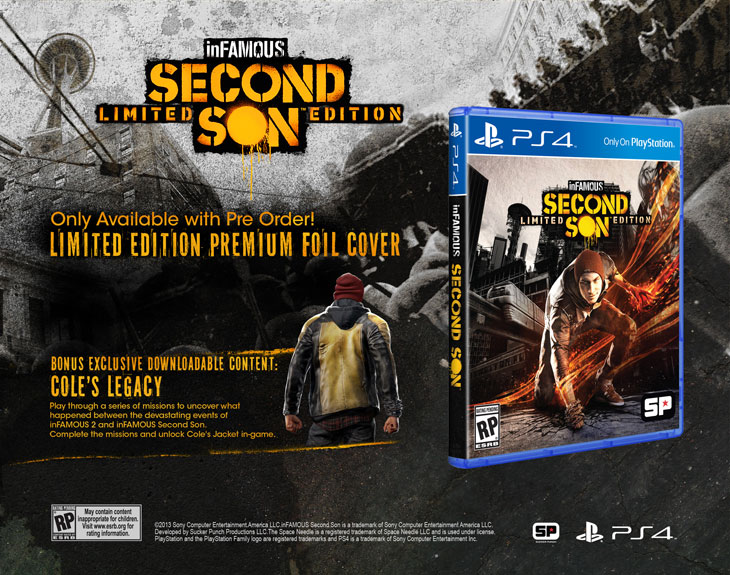 inFAMOUS Second Son™Limited and Collector's Editions