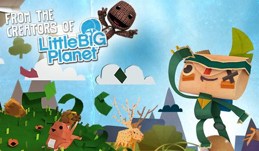 Enter the LittleBIGPlanet - Tearaway Competition!