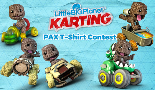 LittleBigPlanet™ Karting PAX T-Shirt Design