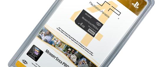 Memory Stick PRO Duo™ (4GB)