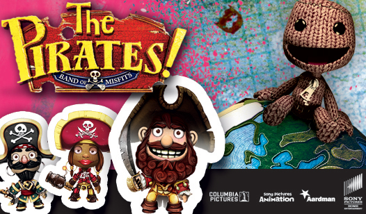 BONUS Pirates! Band of Misfits DLC for LittleBigPlanet™