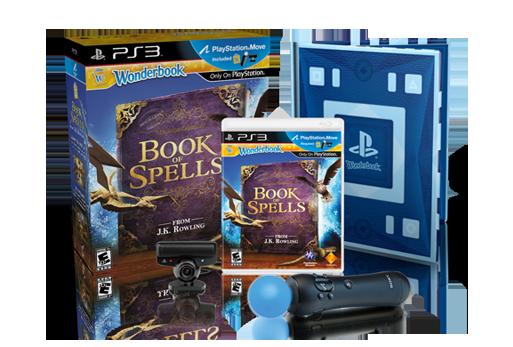 The Wonderbook™: Book of Spells Move Bundle