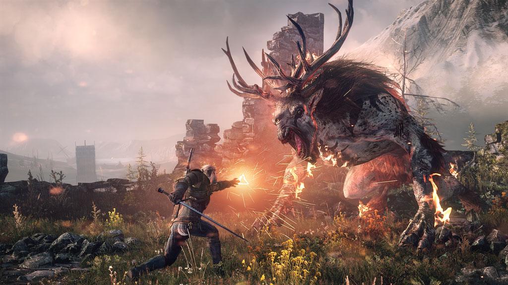games witcher wild hunt