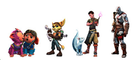 PS Game Characters