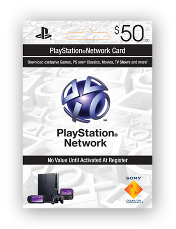 Playstation Network Card $50