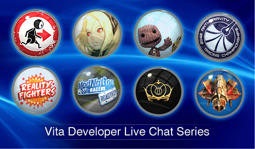 PS Vita Live Game Chats