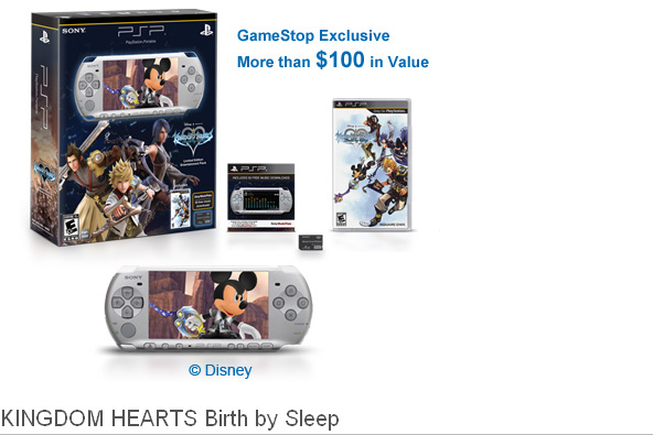KINGDOM HEARTS Birth by Sleep PSP® Entertainment Pack