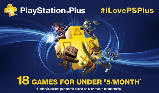 Your Chance to Win a 1 Year Membership to PS Plus!