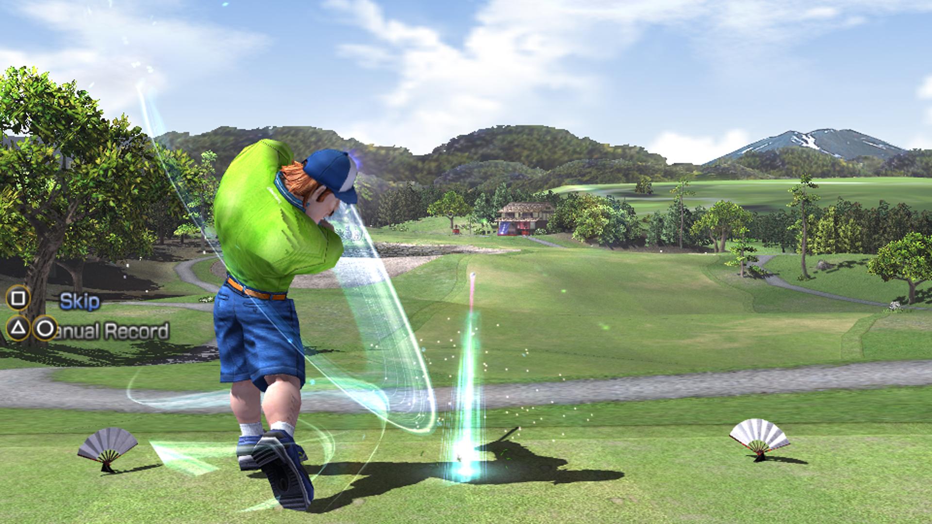 best hot shots golf game
