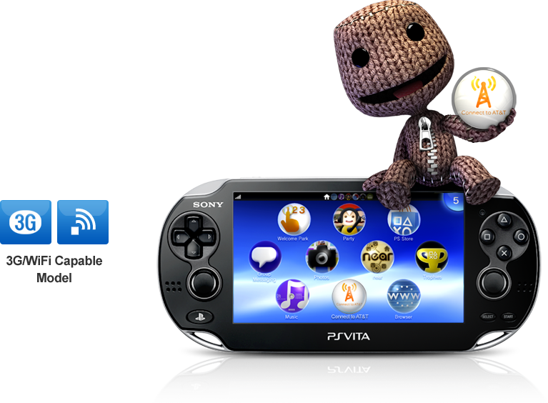 PS Vita With AT&T
