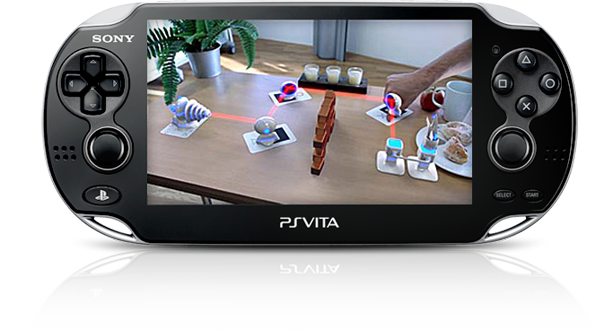 PS Vita System Augmented Reality Gaming