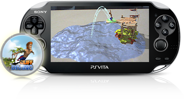 PS Vita Cliff Diving