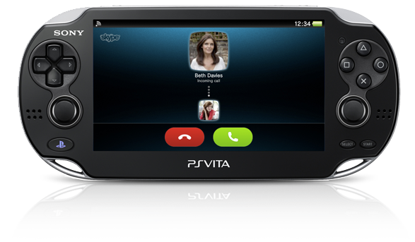 PS Vita System Never miss a call