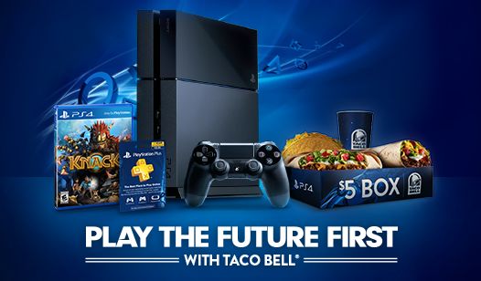 Win a PlayStation®4 Before it's Released from Taco Bell®