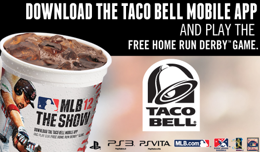 Grab a Taco Bell® Big Hitter $5 Buck Box and get MLB® 12 the Show™  DLC!