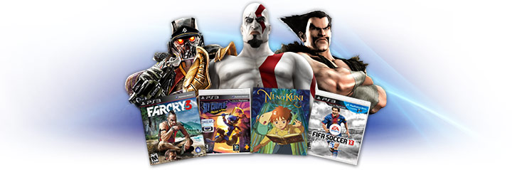 Top 10 Games on PlayStation.com