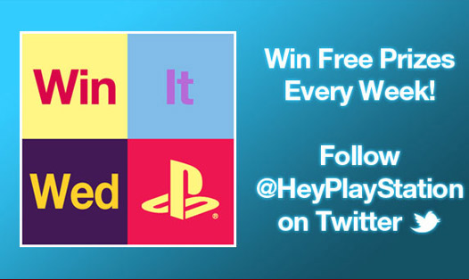 Win It Wednesdays with @HeyPlayStation